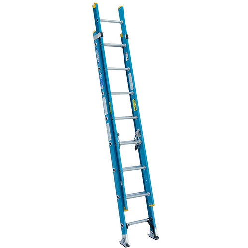WERNER Type I Fiberglass D‐Rung Extension Ladder
