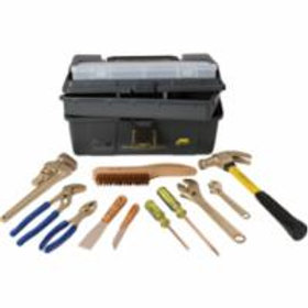 Non Sparking Tools - 11 Piece Kit - AMPCO M-48