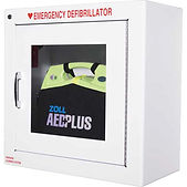 AED Plus® - Wall Cabinet with Alarm | Wholesale Safety Labels