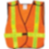 Economy Traffic Vests | Wholesale Safety Labels
