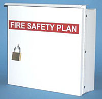 Fire Safety Plan Boxes for Toronto and Peel Region | Wholesale Safety Labels