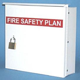 Fire Safety Plan Box