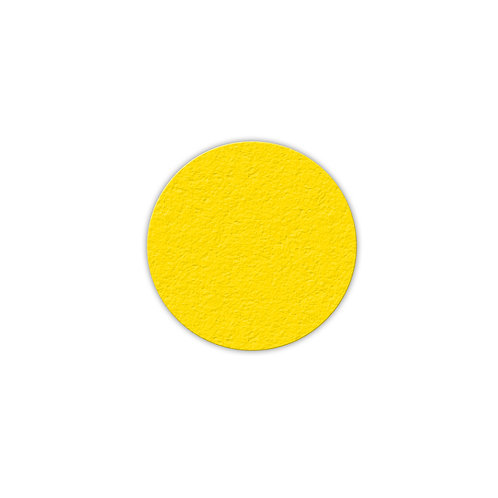 """Circle Shaped Lean 5S Marker - 3"""" H x 3"""" W  25/Pack"""