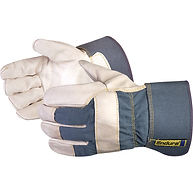 Endura®Cotton Palm Lined Grain Fitters Gloves