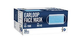 Blue Procedural Mask - 500 / Case | Wholesale Safety Labels