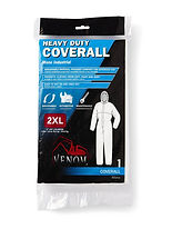 Venom Heavy-Duty Coveralls | Wholesale Safety Labels