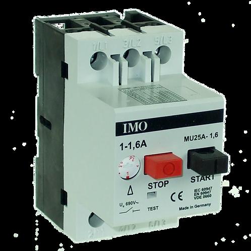 Manual Motor Starter 1.00 To 1.60 Amps MU25A1.60