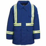 Flame-Resistant Parkas with Reflective Stripes | Wholesale Safety Labels