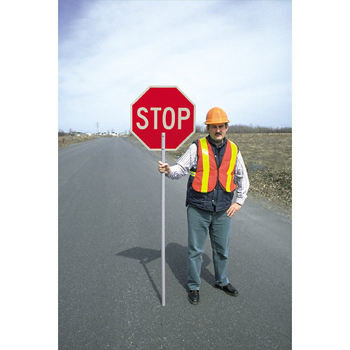 Construction Signs - Traffic Control Stop