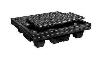 Black Diamond Nestable Spill Pallets  | Wholesale Safety Labels