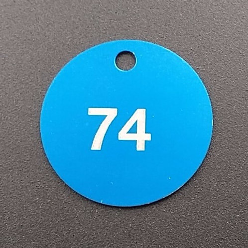 Custom Engraved Anodized Aluminum Tags