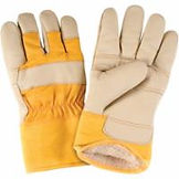 Winter Lined Leather Gloves