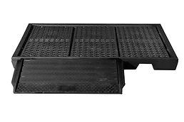 Black Diamond Low Profile Spill Pallets | Wholesale Safety Labels