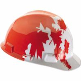 Safety Hard Hats - Type 1 - Canadian Maple Leaf