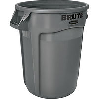 Round Brute® Heavy Duty Containers, Tops & Dollies
