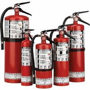 Strike First Steel Dry Chemical ABC Fire Extinguishers