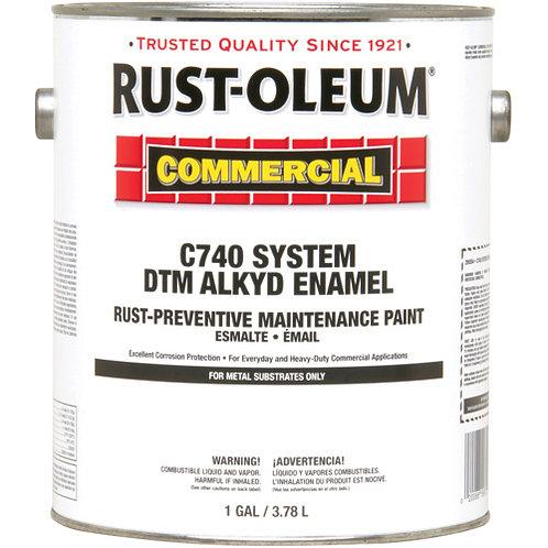 RUST-OLEUM Dtm Alkyd Commercial C740 Paint