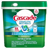 Cascade All-In-1Pacs 72 count PGC86084