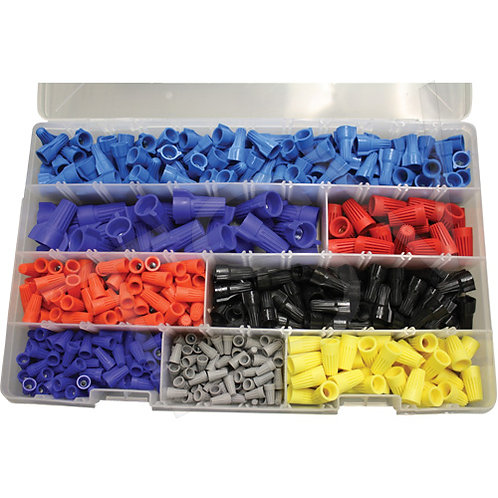 IDEAL Canadian Wire Connector Kits 450 Pieces