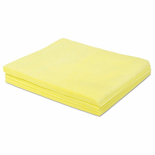 Boardwalk® Dust Cloths 18 x 24, Yellow, 500/Carton