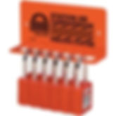 Heavy-Duty Padlock Rack Stations | Wholesale Safety Labels