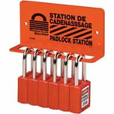 Heavy-Duty Padlock Rack Stations