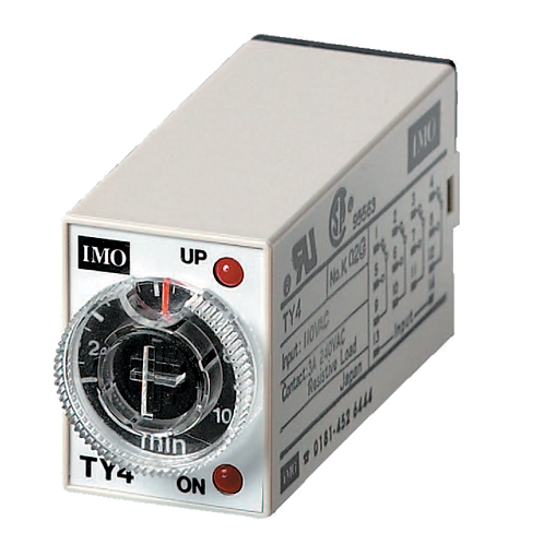 IMO Plug In Timers 24VDC coil, 4PCO 6A,
