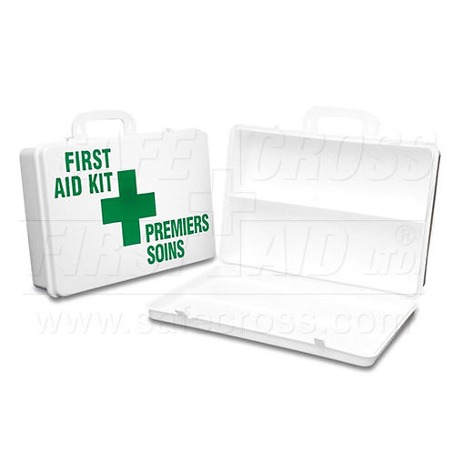 Plastic First Aid Kit Containers - 36 Unit