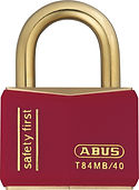 ABUS Brass Safety Padlock | Wholesale Safety Labels