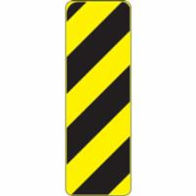 Regulatory Warning Sign Left Hazard Marker