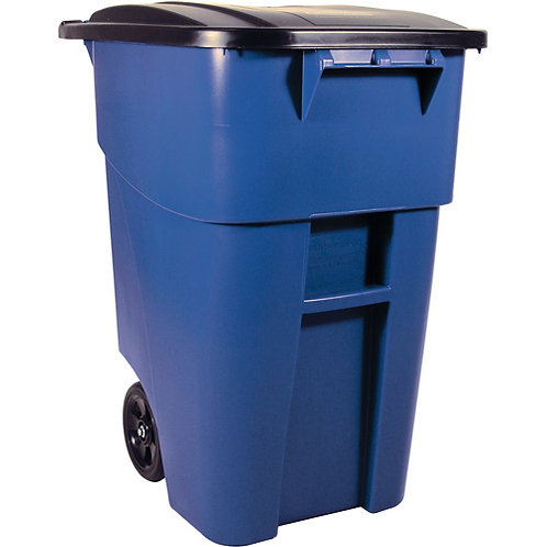 Rubbermaid Recycling Brute Roll Out