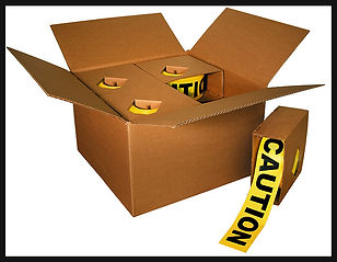 Barricade Tape - Caution in a Box
