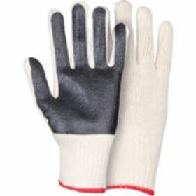 Knit Gloves - PVC Palm Coated Gloves