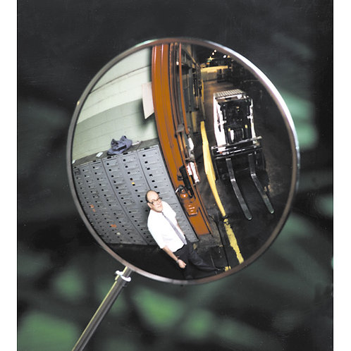 Exterior Convex Security Mirrors | Wholesale Safety Labels