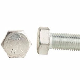 "Fasteners - 3/8""-16 x 1-1/4"" Grade 5 Zinc Finish Hex Cap Screw 100/Box"