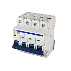 IMO Multi-Pole Miniature Circuit Breakers 3 Pole + Neutral