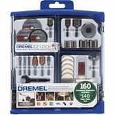 Dremel® 160 Piece Accessory Sets