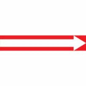 Pipe Marker - Self Stick with Dir. Arrow