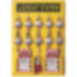 North Single Lockout Stations | Wholesale Safety Labels