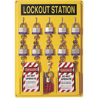 North Single Lockout Stations