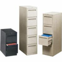 Vertical Files w/Recessed Drawer Handles | Wholesale Safety Labels