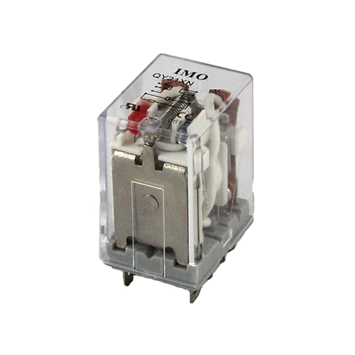 IMO Relay 2PCO, 10A, 240VAC, up to 1.8VA Plug-in,