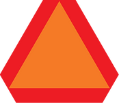 Slow Moving Vehicle Signs