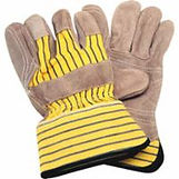 Split Cowhide Fitters Superior Quality Double Palm Gloves