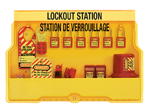 Master Lock Electrical Lockout Stations | Wholesale Safety Labels