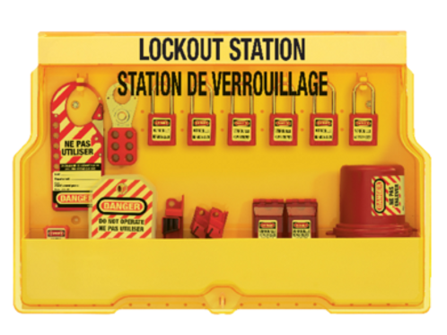 MASTER LOCK - Electrical Lockout Stations