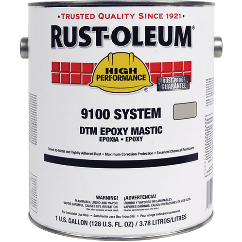 RUSTOLEUM Dtm Alkyd Epoxy Mastic Base 9100 Series