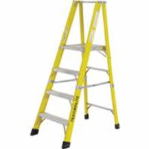Featherlite Industrial Heavy-Duty Fibreglass Ladders  | Wholesale Safety Labels