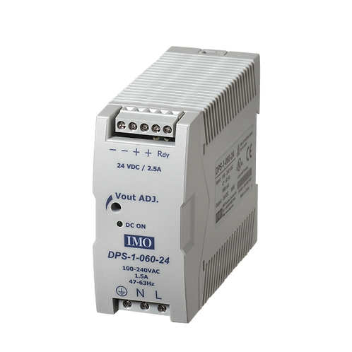Din Rail Power Supply 24VDC Output, 60W 2.5A