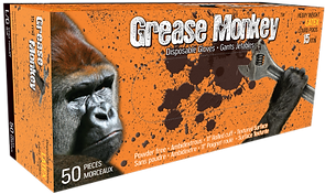 Grease Monkey® 5553PF Blue Rubber 15 Mil| Wholesale Safety Labels